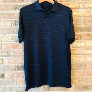 🎁CHAMPION🎁 Striped Polo Shirt Size Medium